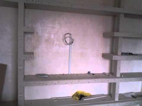 Как сделать короб на стену своими руками