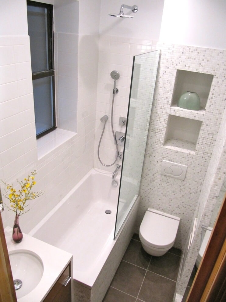 Дизайн ванной комнаты с туалетом 3 кв м