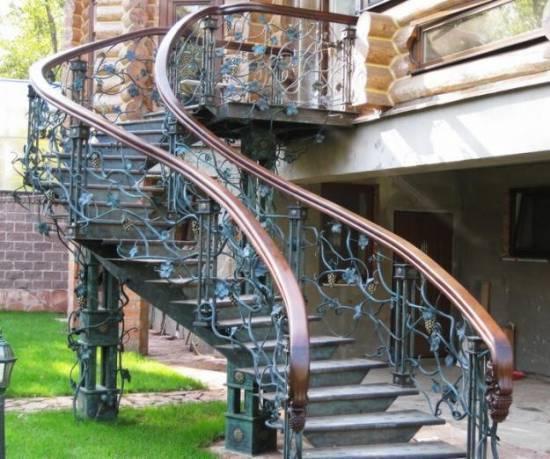 Формирование стоимости на изготовление металлических лестниц