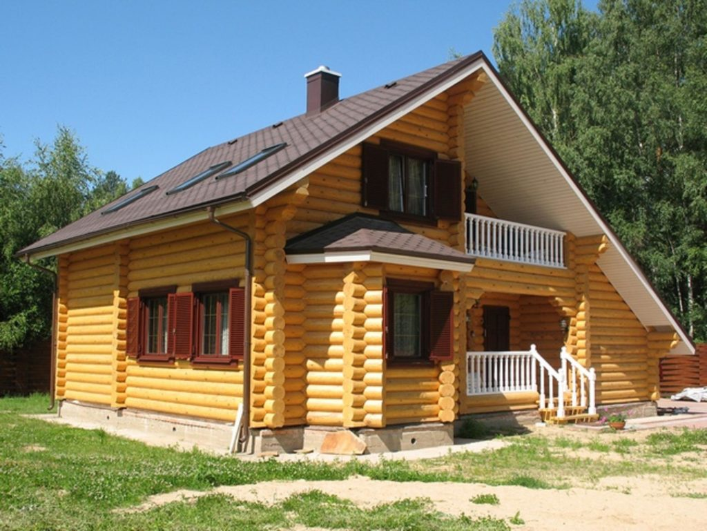 Основные достоинства домов из бруса