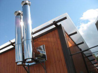 Дымоходы из стали – прочные и стойкие к высоким температурам