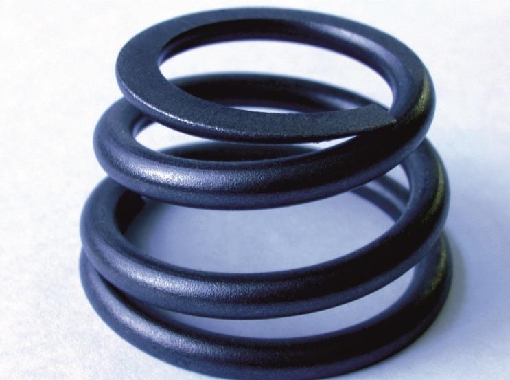 Производство пружинных изделий конического типа