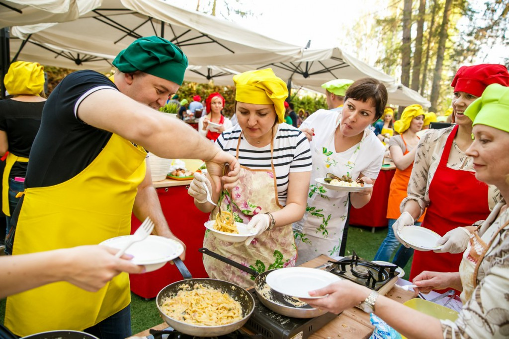 Что такое кулинарный тимбилдинг