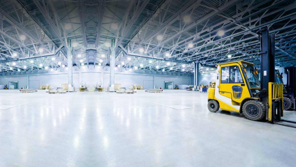Как устраиваются промышленные полы: опыт профессионалов