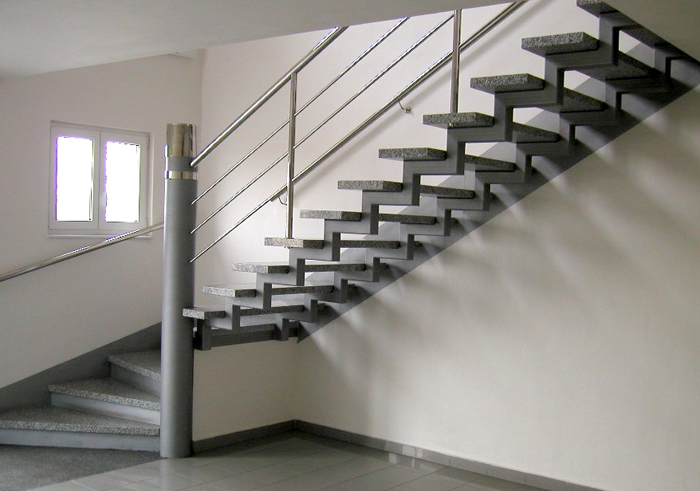 Металлические лестницы в Твери