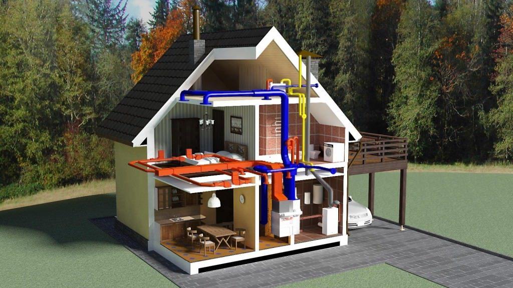 Система отопления частного дома и уход за ней