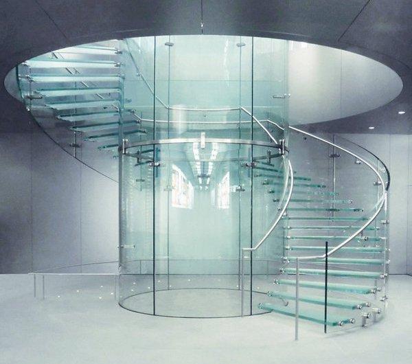 Изготовление конструкций из каленого стекла на заказ