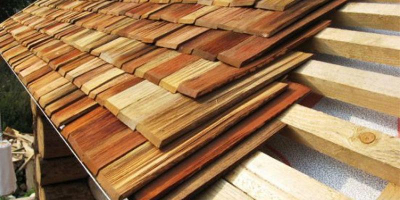 Производство деревянной черепицы
