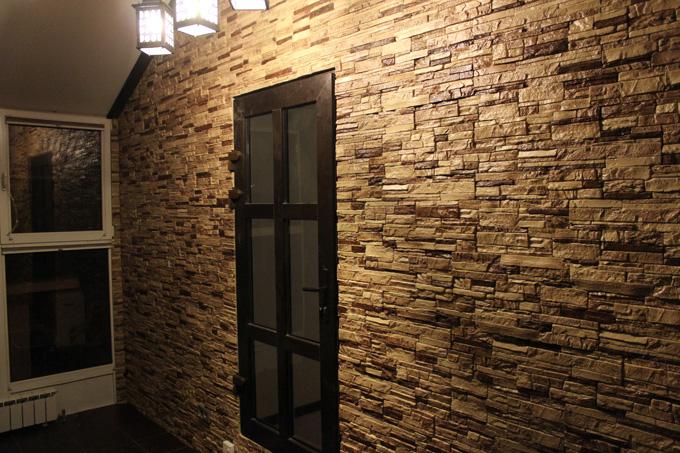 Декоративная плитка под камень – лучший вариант для внутренней отделки помещений