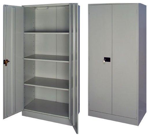 Какими могут быть металлические шкафы