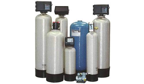 Устройство фильтра обезжелезивания воды