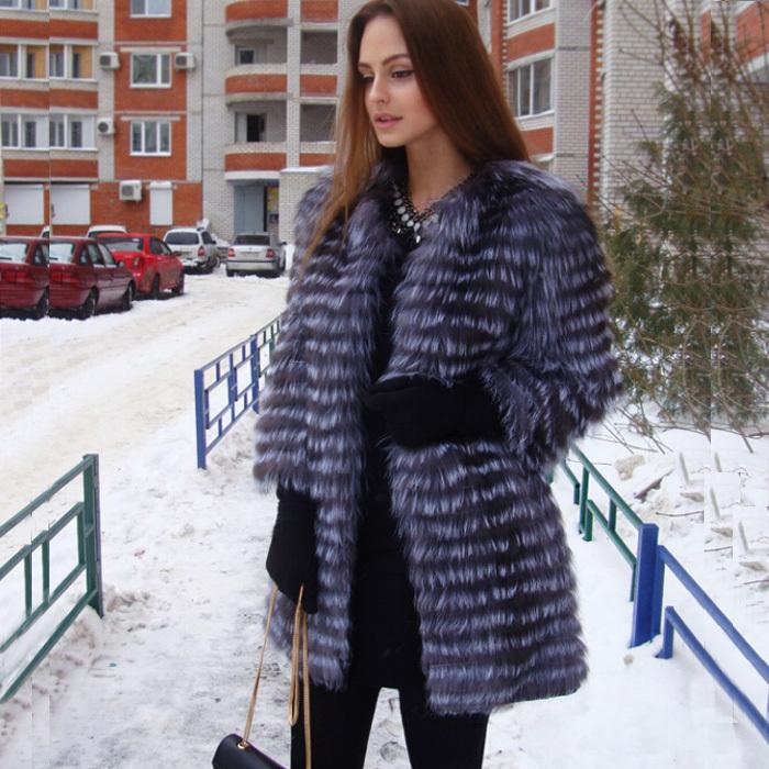 Женская шуба из чернобурки – идеальное сочетание тепла и красоты