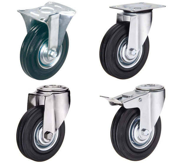 Колеса и колесные опоры на тележки на выгодных условиях для каждого клиента