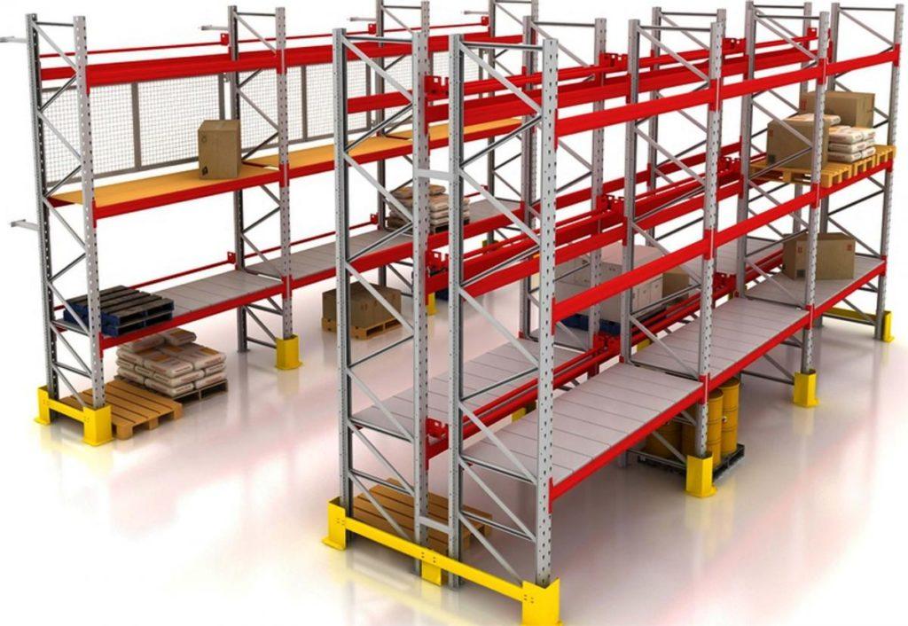 Основные типы стеллажей для склада