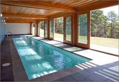 Два важных нюанса по строительству бассейна в загородном доме