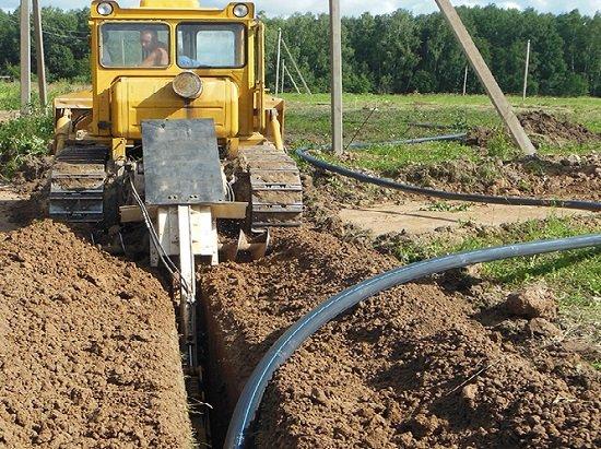 Общее описание прокладки водопровода на частном участке