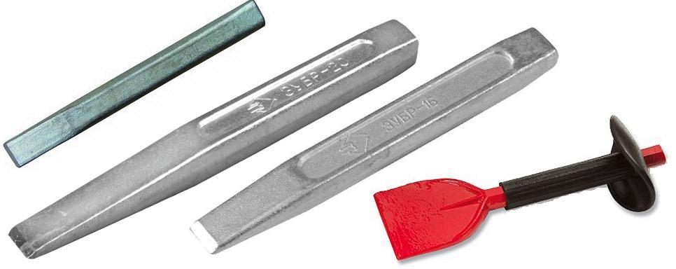 Зубило – разновидности и характеристики инструмента