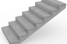 Основные преимущества бетонных лестничных маршей