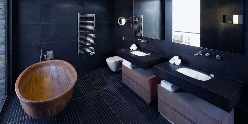Дизайн ванной комнаты: фото 2018, современные идеи
