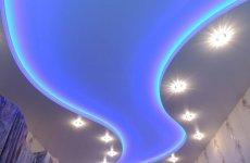 Привлекательность использования современных натяжных потолков